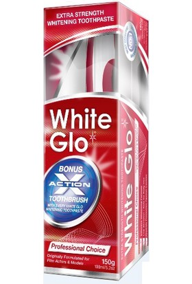 White Glo Professional Choice 150Ml - Ekstra Beyazlatıcı Diş Macunu