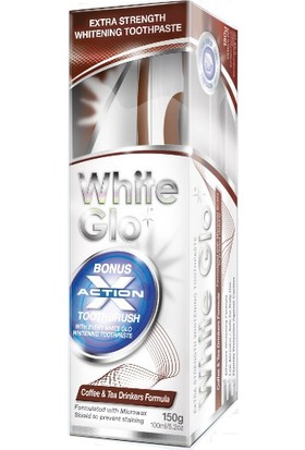 White Glo Coffee And Tea Drinkers Formula Whitening Toothpaste 150Ml -Yoğun Çay Ve Kahve Tüketenlere Özel Diş Macunu