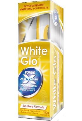 White Glo Smoker Formula 150 Gr - Sigara İçenler İçin Beyazlatıcı Diş Macunu