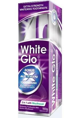 White Glo 2İn1 Mouthwash Ağız Gargarası Ve Diş Macunu Bir Arada 100 Ml