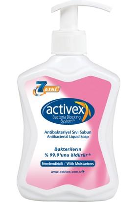 Activex Nemlendiricili Antibakteriyel Sıvı Sabun 300 Gr