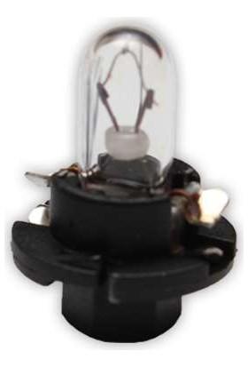 Starklips Ampul Gösterge Siyah 12V 1 2W 2 Li Paket