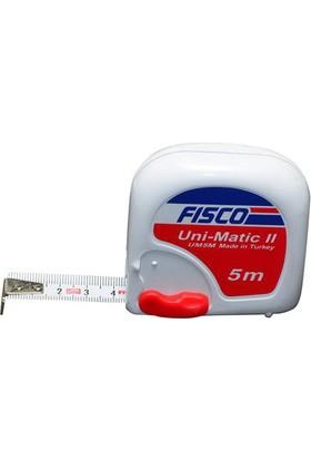 Fisco Metre Şerit Çelik 5Mt X 19Mm