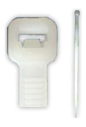 Starklips Kablo Bağı Beyaz 3 6X20 Cm 100 Lü Paket