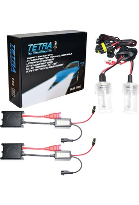 Tetra Set Xenon Far H1 6000K