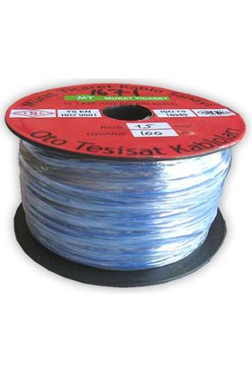 Starklips Kablo Kalaylı Çiftli 2X2 5Mm 100Mt Aksan 105