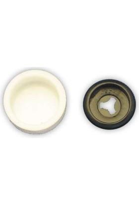 Starklips Vida Kapağı Küçük Boy Bombesiz Beyaz 5'Li Paket