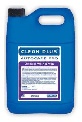 Cleanplus Oto Şampuan Cilalı Wash And Wax 5Lt 600201