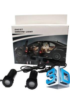 Starklips Ford Kapı Altı Hayalet Led Logo (3D Ghost Led Teknolojisi)