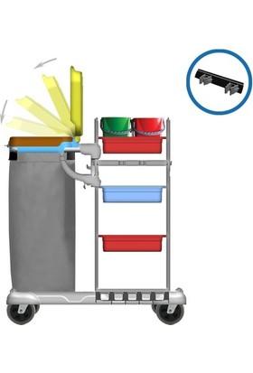 Hafea Plastik Kat Hizmet Ve Temizlik Arabası - Hf 3303