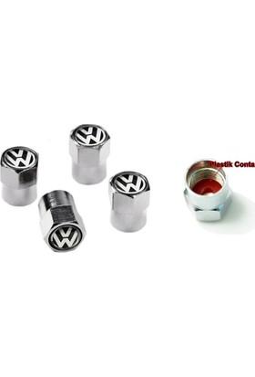 Nxt Vw Sibop Kapağı Metal 4 Adet Golf Sibop Jetta Sibop Passat Sibop