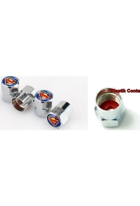 Nxt Superman Sibop Kapağı Metal 4 Adet