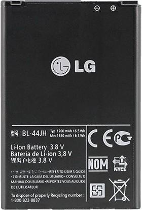 LG L5 1700 mAh Pil/Batarya LG BL-44JN