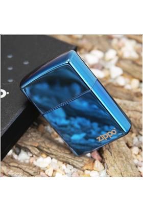 Zippo Blue Sapphire Logo Benzinli Çakmak / 20446 ZL
