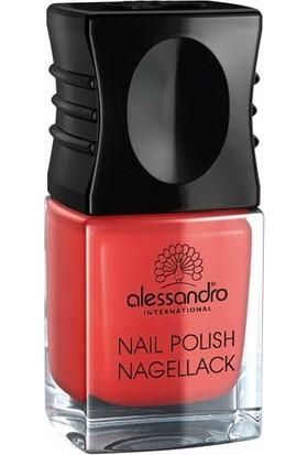 Alessandro Nail Polish Orange Red 10 ml.