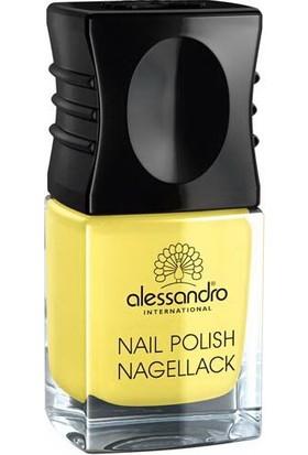 Alessandro Nail Polish Sparkling Lime 10 ml.