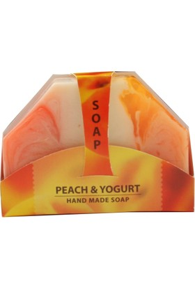 Bio Fresh Hand Made Soap - Peach & Yogurt 80 gr.
