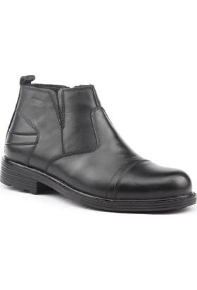 Jump 14519-A %100 Deri Günlük Termo Taban Erkek Bot Ayakkabı