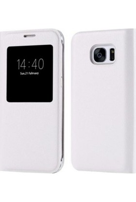 Dh Cases Samsung Galaxy S7 Edge S View Cover Kapaklı Kılıf