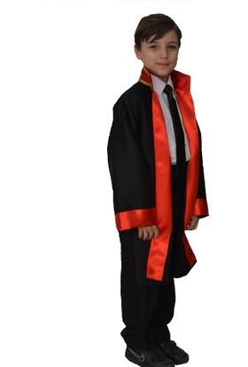 HKostüm Hakim & Yargıç Cübbesi - Çocuk Kostümü 10 - 12 Yaş