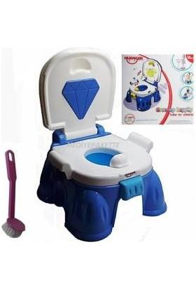 Bircan Oyuncak Huanger Eğitici Tuvalet Lazımlık Pembe-Mavi