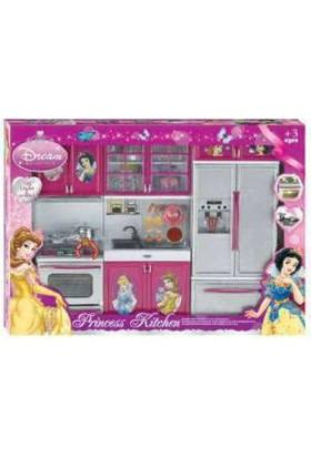 Karsan Işıklı Sesli Mutfak Seti Oyuncak,Prenses Mutfak