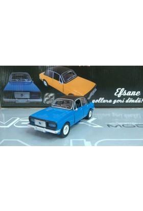 Birlik Oyuncak Anadol Efsane Metal Araba Sesli Işıklı Mavi