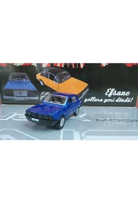 Birlik Oyuncak Efsane Toros Metal Araba Sesli Işıklı Mavi