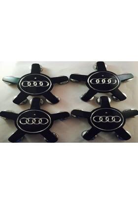 Wolcar Audi Jant Göbek Arma Audi (Siyah) Tt
