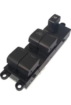 Wolcar Nissan Note Sol Dörtlü Cam Açma Anahtarı