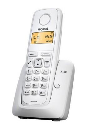 Gıgaset A120 Dect Telefon, Beyaz