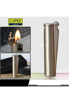 Clipper Benzinli Metal Çakmak