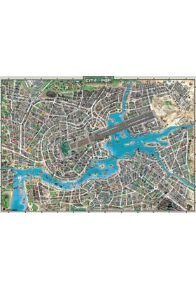 Heye 3000 Parça City Of Pop Puzzle