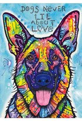 Heye 1000 Parça Dogs Never Lie Puzzle (Dean Russo)