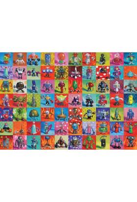 Heye 2000 Parçalık Puzzle Robots