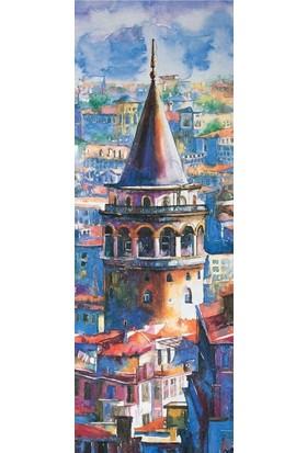 Puzz Galata Kulesi Panoramik Puzzle (34 x 96 cm)