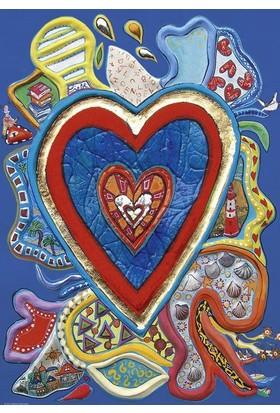 Heye 500 Parça Red And Blue Puzzle (Stefanie Steinmayer)