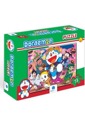 Gizzy Game Doraemon Parti Zamanı 72 Parça Puzzle