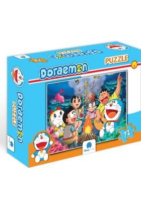 Gizzy Game 72 Parça Doraemon Kamp Ateşi Puzzle