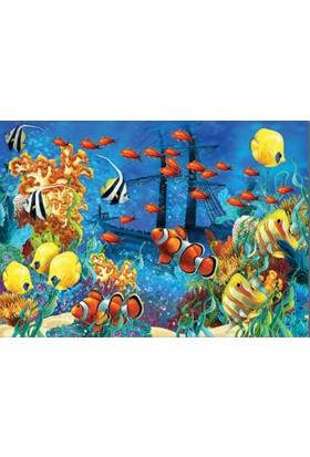 Keskin Color 150 Parça Çocuk Yapboz (Akvaryum)