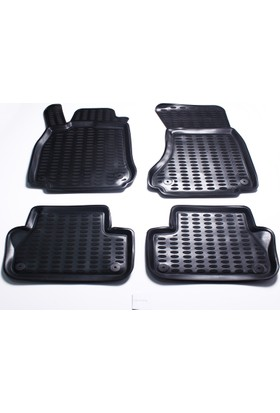 Leader A4 Sedan 3D Havuzlu Paspas Siyah 2013 Model Sonrası A+Kalite