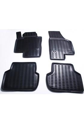 Leader Jetta 3D Havuzlu Paspas Siyah 2011 Model Sonrası A+Kalite