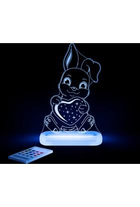 Aloka Sleepylight Tavşan Gece Lambası