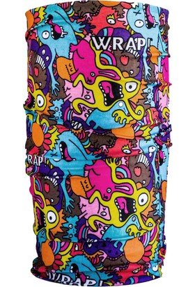 Wrap Monsters Uv Korumalı Bandana
