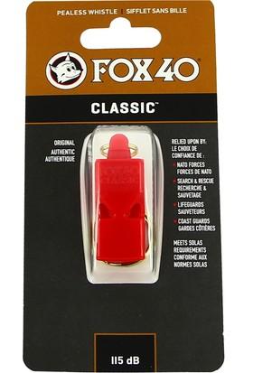 Fox 40 Classic Safety Kırmızı Düdük