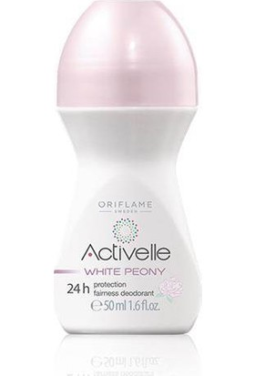 Oriflame Activella White Peony Bayan Roll - On Deodorant - 50 ml