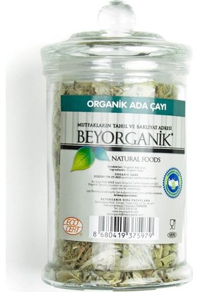 Beyorganik Organik Ada Çayı 50 Gr.