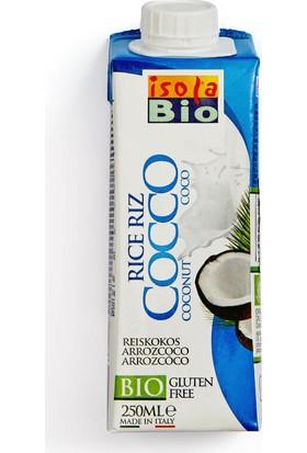 İsola Bio Organik Hindistancevizi & Pirinç Sütü 250 Ml.