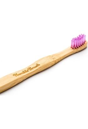 Humble Brush Bambu Çocuk Diş Fırçası - Ekstra Yumuşak - Pembe