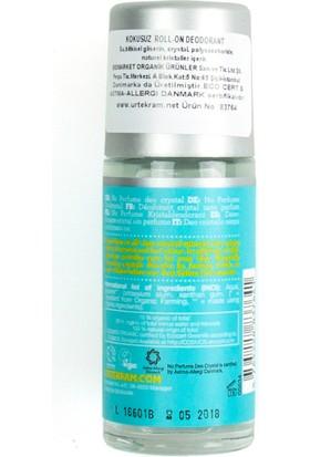 Urtekram Organik, Vegan ve Kokusuz Kristal Deodorant - roll-on 50 ml.